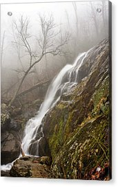 Acrylic Print featuring the photograph Falling Mist by Alan Raasch