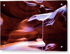 Acrylic Print featuring the photograph Falling Sand by Stephen Holst