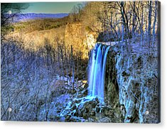 Falling Spring Falls Acrylic Print