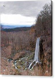 Falling Springs Panorama Acrylic Print