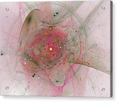 Falling Together Acrylic Print