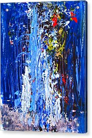 Falling Water Acrylic Print by Penfield Hondros
