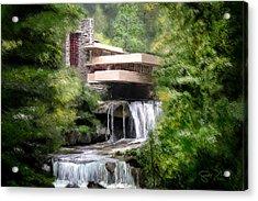 Fallingwater - Frank Lloyd Wright Acrylic Print