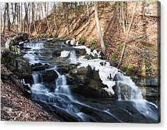 Falling Waters In February #1 Acrylic Print