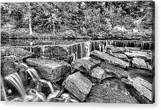 Falling Waters On Deep Creek Acrylic Print by JC Findley