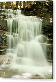 Falling Waters Acrylic Print by Roupen  Baker