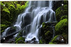 Acrylic Print featuring the photograph Falls by Chad Dutson