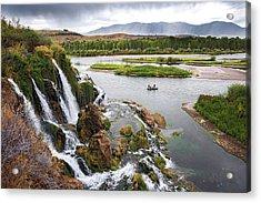 Falls Creak Falls And Snake River Acrylic Print
