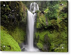 Falls Creek Falls In Washington  Acrylic Print
