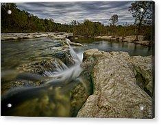 Texas Hill Country Falls Acrylic Print