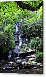Falls Near Bryson City Acrylic Print