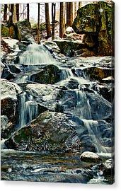 Falls Of Fogg Brook Acrylic Print