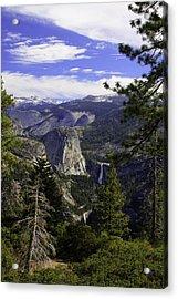 falls of Yosemite Acrylic Print by Jim Riel