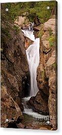 Falls On Falling River Acrylic Print