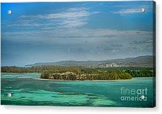Falmouth Jamaica Acrylic Print by Judy Hall-Folde