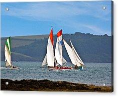 Falmouth Reggatta  Acrylic Print by Brian Roscorla