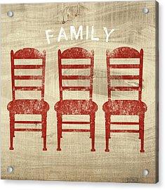 Family- Art By Linda Woods Acrylic Print by Linda Woods