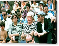 Acrylic Print featuring the photograph Family At The Races by Douglas Pike