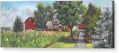 Family Farm Acrylic Print by Terri  Meyer