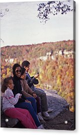 Family Outing Acrylic Print by Randy Muir