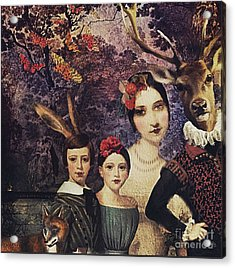 Family Portrait Acrylic Print by Alexis Rotella