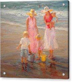 Family Time Acrylic Print by Diane Leonard