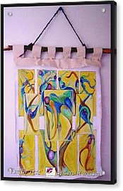 Acrylic Print featuring the painting Family Tree by Carol Rashawnna Williams