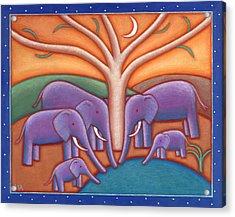 Family Tree Acrylic Print by Mary Anne Nagy