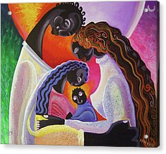 Family Unity Acrylic Print by Kevin McDowell