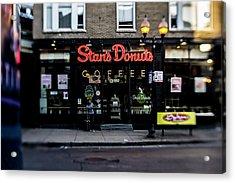 Famous Chicago Donut Shop Acrylic Print