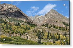 Famous White Pass Summit Acrylic Print by Dennis Stein