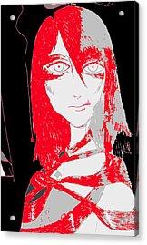Fanatical Acrylic Print by Rae Chichilnitsky