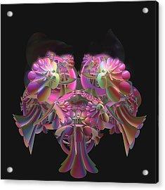 Fancy Bouquet Acrylic Print