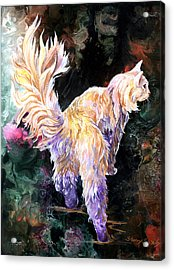 Acrylic Print featuring the painting Fancy Britches by Sherry Shipley