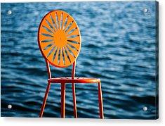 Fancy Chair Acrylic Print by Todd Klassy