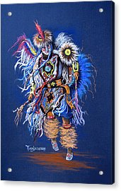 Fancy Dancer II Acrylic Print by Tanja Ware