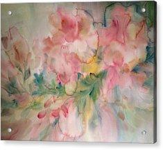 Fancy Frills Acrylic Print