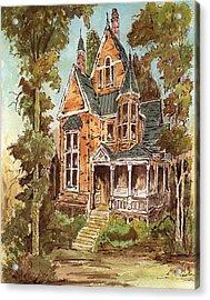 Fancy Old House 32 Acrylic Print by Aurelio Menna
