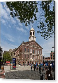 Faneuil Hall Boston Acrylic Print