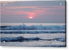 Fanore Sunset 1 Acrylic Print