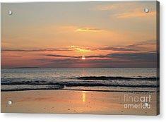 Fanore Sunset 3 Acrylic Print