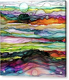 Fantascape Acrylic Print