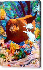 Fantasea Acrylic Print by Barbara Stirrup