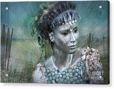 Mermaiden Fantasea Acrylic Print