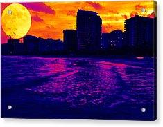 Fantastic Colors Acrylic Print by Jose Mena