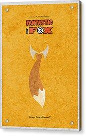 Fantastic Mr. Fox Acrylic Print by Ayse Deniz