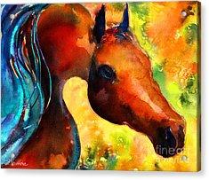 Fantasy Arabian Horse Acrylic Print