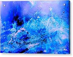 Fantasy Blue Artwork Acrylic Print