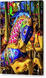 Fantasy Carrousel Ride Acrylic Print