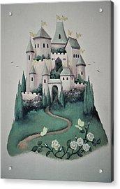 Fantasy Castle Acrylic Print